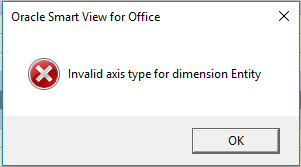 invalid axis type